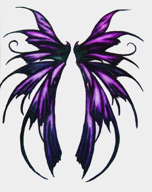 Fairy Wings Tattoo Designs Ideas Picture 9