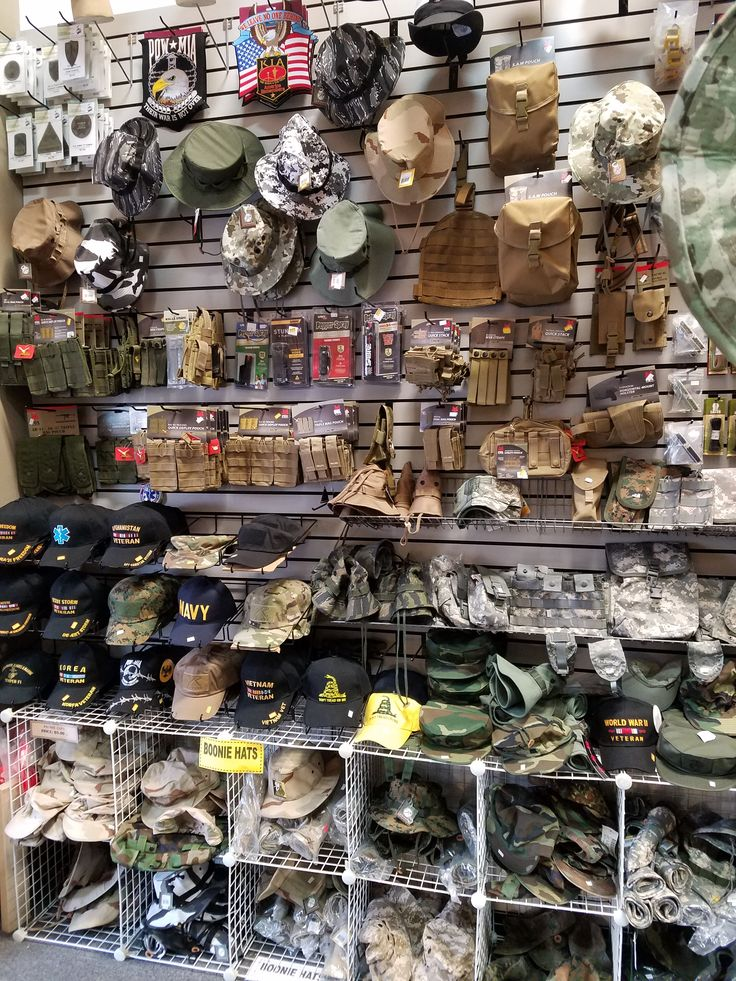Military surplus eureka ca