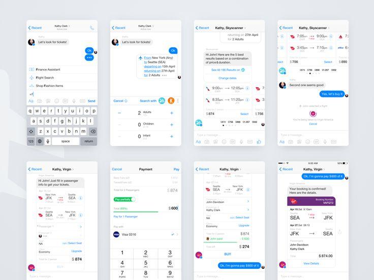 Messenger Bots & Partial payment Concept 2