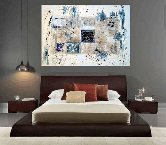 Abstract Wall Art Artwork Home Design Decorators Acryl Painting New Year Large 27 X 20 Inches Decor Modern Bl My Paintings