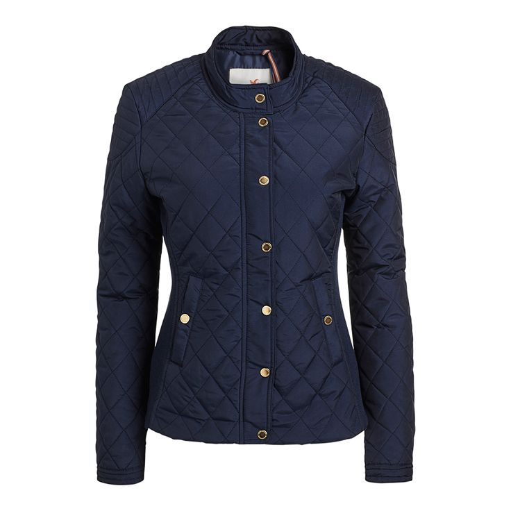 Prošívaná bunda, Modrá, Svrchní oděvy, Ženy   Lindex
