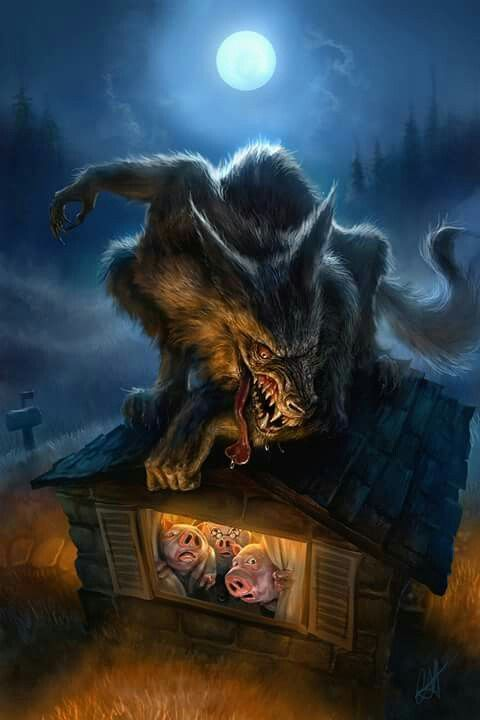 Werewolf & the Three Pigs