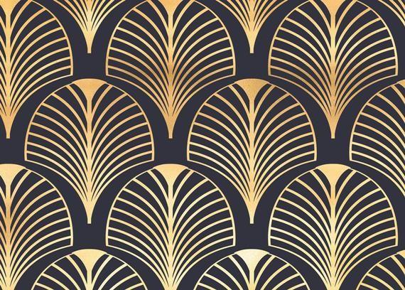 Art Deco Pattern Stock Vector Image Art Alamy 14