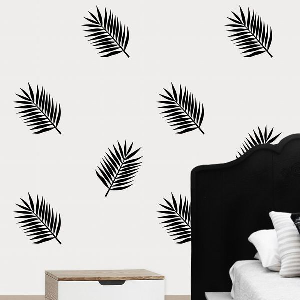 Image of Palm Leaves Wall Decals (Set)