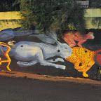 Grafiteros embellecen las paredes de Posadas - Misiones OnLine Noticias - Defendiendo los intereses misioneros