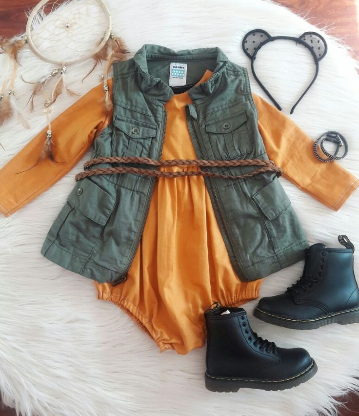 Baby toddler girl Autumn/fall outfit. Boho bohemian. Rocker baby. Dr. Martens. Doc Martens. Docs.