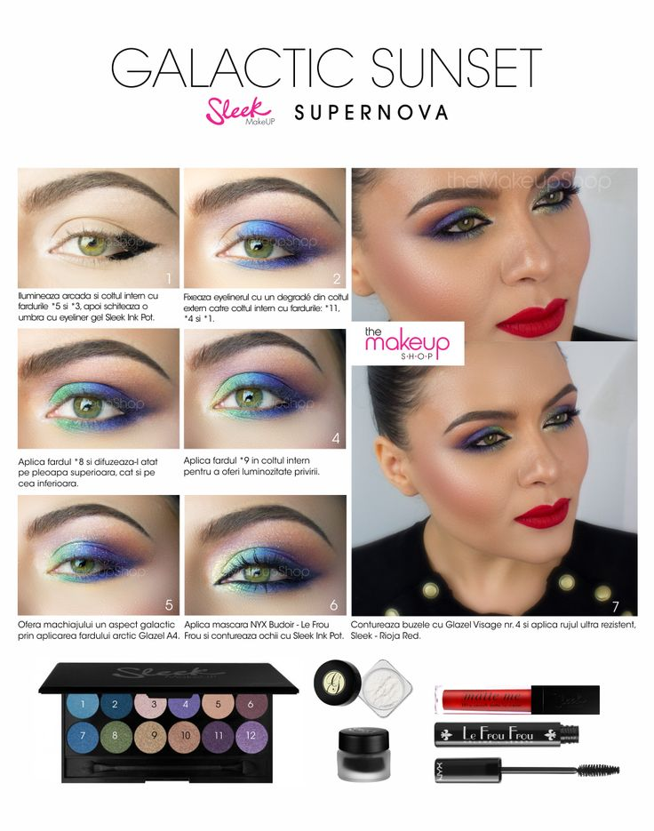 Paleta Farduri Sleek Supernova - Makeup Shop