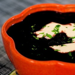 black bean soup..yum! this is one of my very favorite recipe guides ...