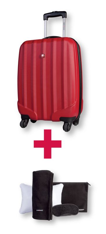 "20"" Upright Rigid Luggage - Holiday Group"