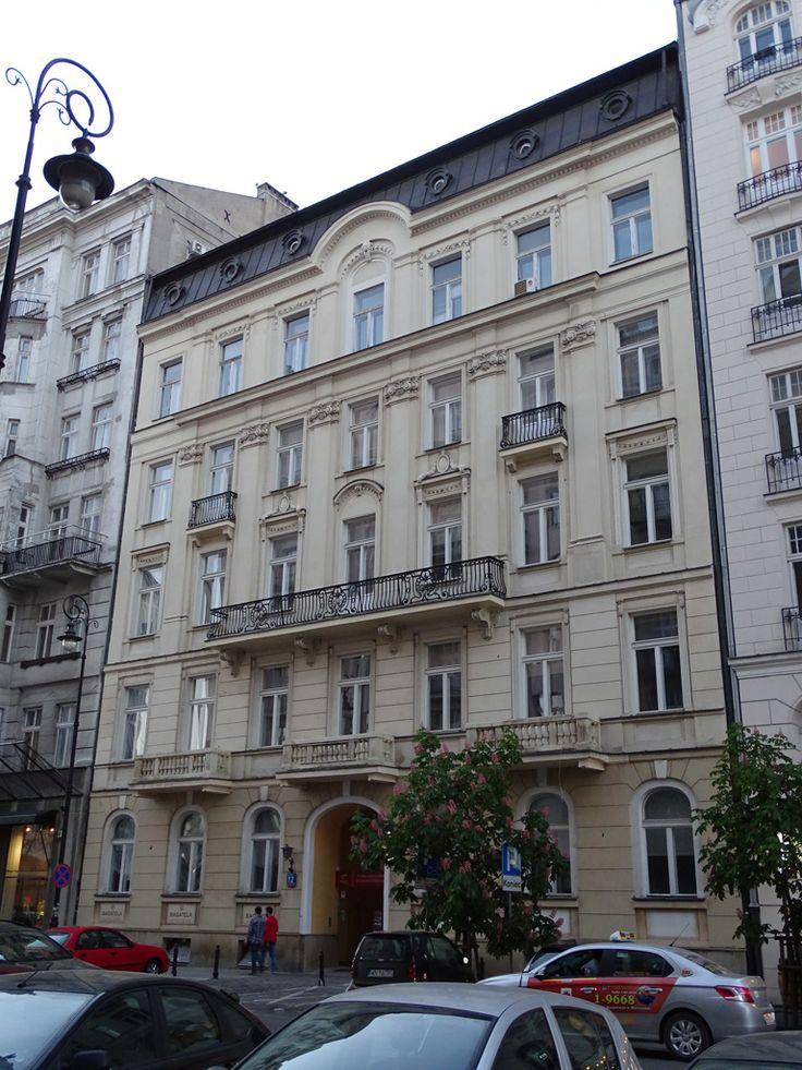 Warszawa, Bagatela 12 (1912, arch. Maurycy Grodzieński), fot. PK