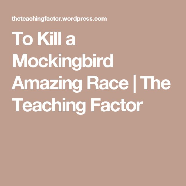 Best 25+ Kill A Mockingbird Ideas On Pinterest