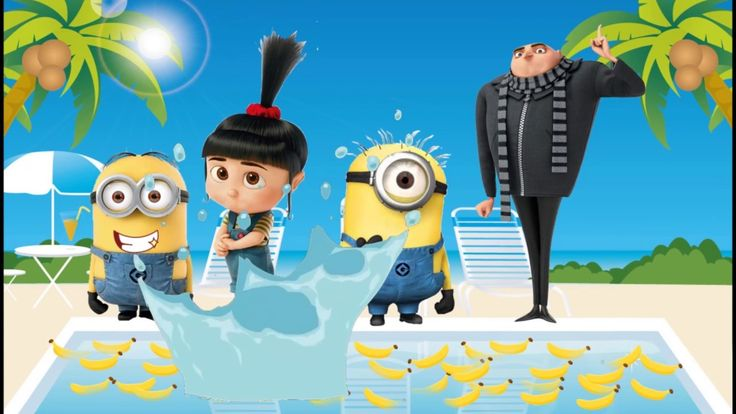 Despicable Me 3 Baby Learn Colors for Kids Finger Family Nursery Song Mi...