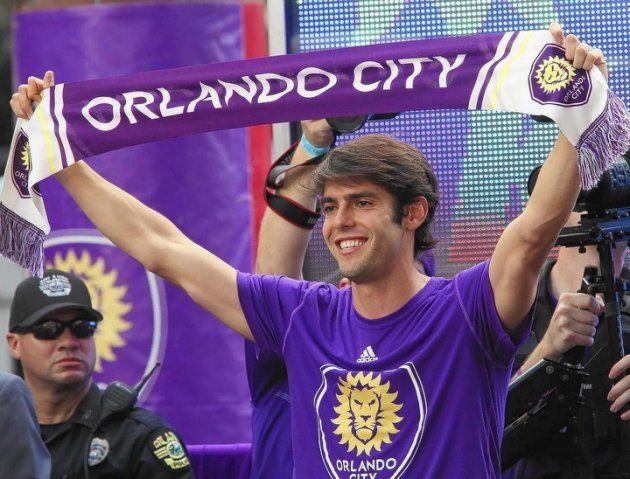 Kaka Orlando City Soccer   Fewer than 100 people watch Kaka score first goal for Orlando City ...