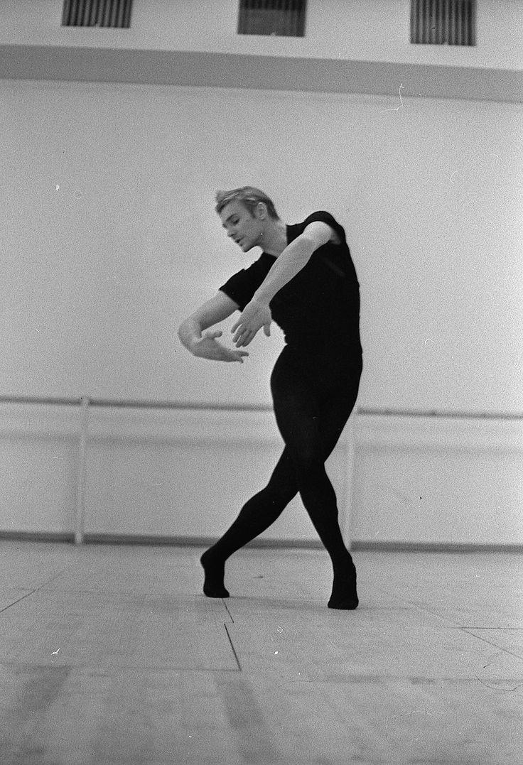 Vladimir Vasiliev rehearsing the role of Manjun in 1968. Photo by Leonid Zhdanov.