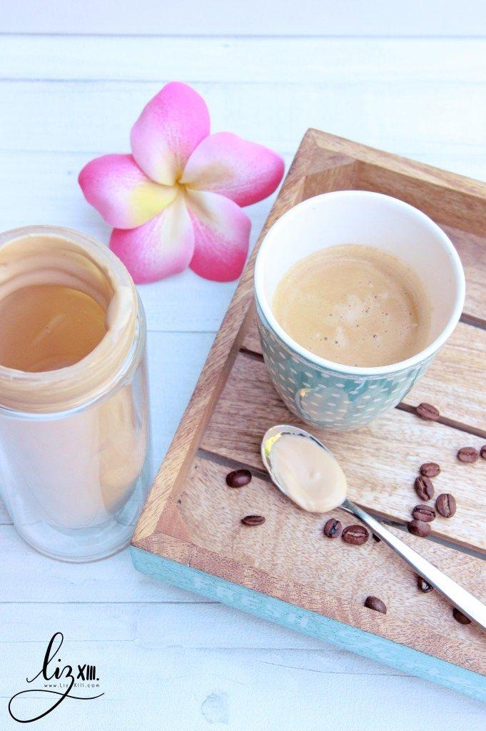 Kaffeesahne vegan, Rezept auf LizXIII.com