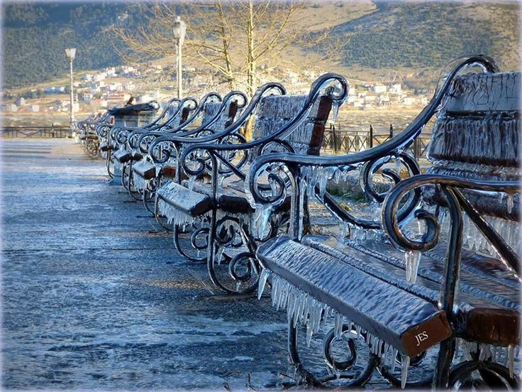 Frozen Ioannina (photo: JES)