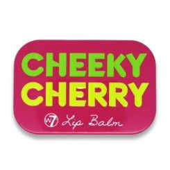 W7 Fruity Lip Balm, Cheeky Cherry