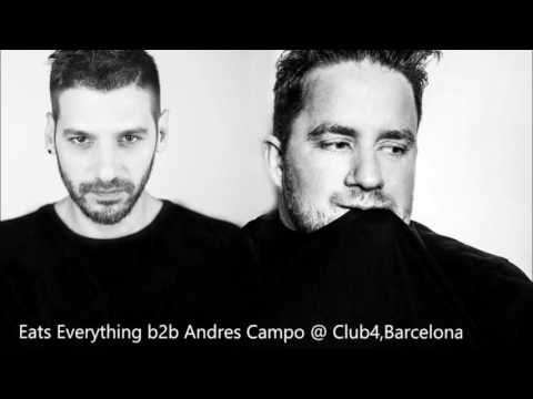 Eats Everything b2b Andres Campo @ Club4, Barcelona 22 09 2016