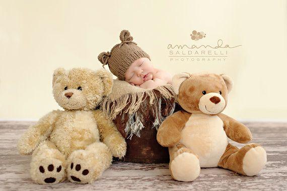Photo nouveau-né prop chapeau nouveau-né garçon par BabiesRepublic