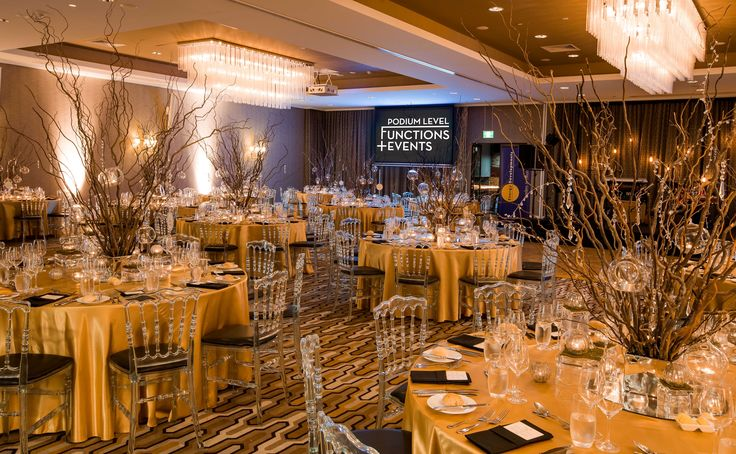 Rydges South Bank | Functions & Events | Podium Level Function & Events Centre | Podium Rooms | Gala Dinner