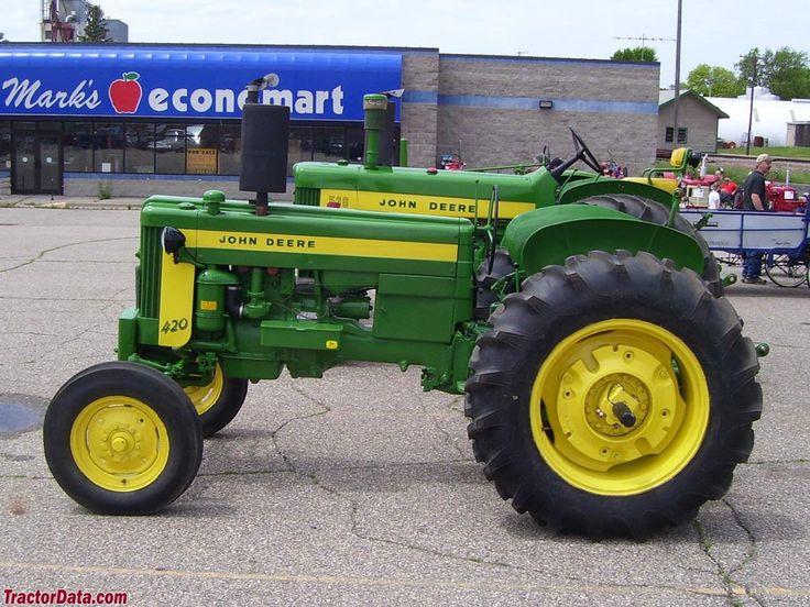 Cd F F E A A F Vintage Tractors John Deere