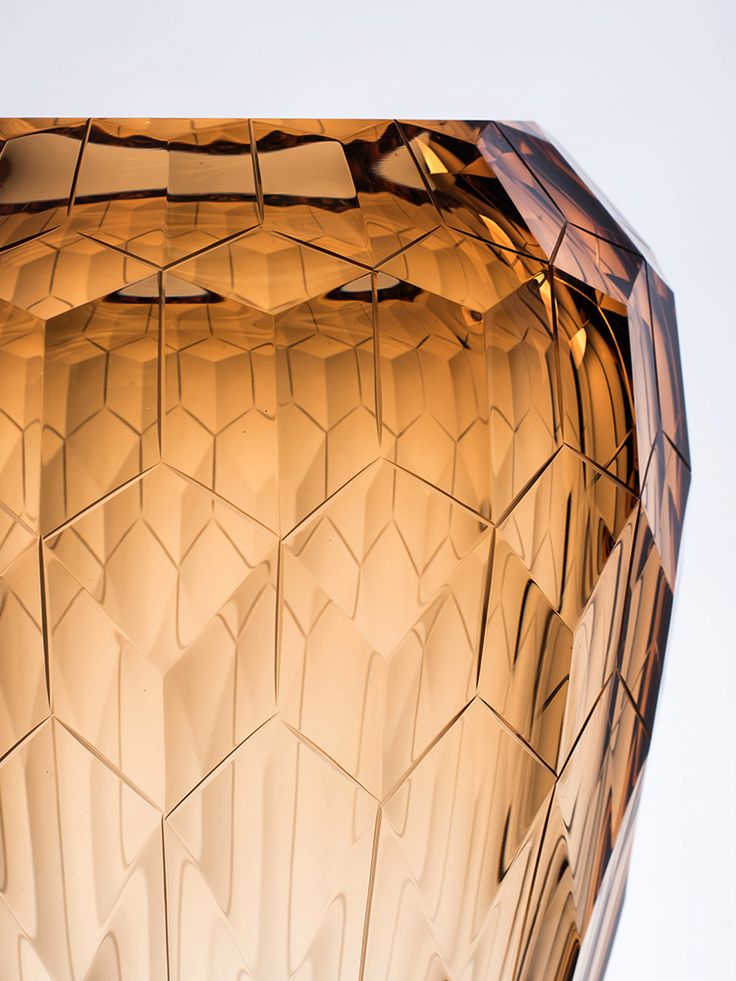 Glass vase - Cinque Torri Designed by Filip Dobias for Moser