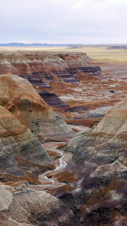 Painted Desert, Petrified Forest National Park, AZ