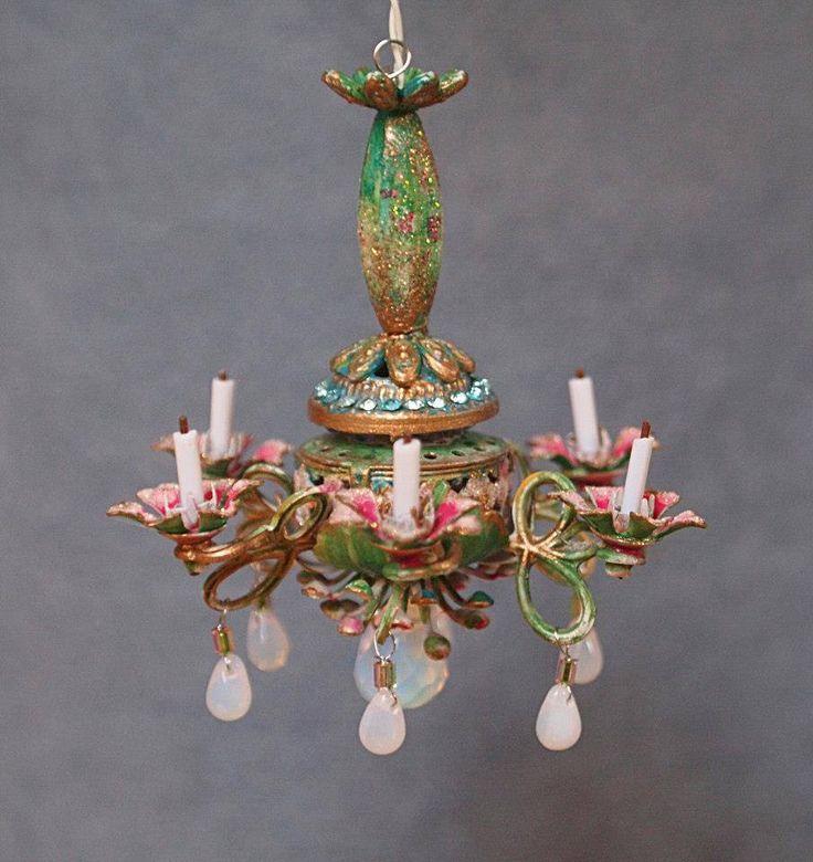 704 Best Miniature Lamps Images On Pinterest