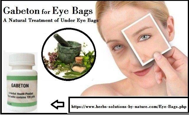 Gabeton Herbal Supplement for Eye Bags Natural Treatment