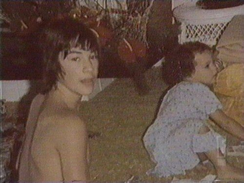 Young Keanu ♡♥ Reeves and sister Kim