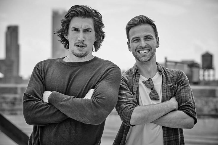 """sleemo: """"""""Keith Waterfield: """"Me and the absolute boss that is Adam Driver dropping a classic hero pose out in #nyc for our latest @britishgq covershoot and interview. by @matthewbrookesphoto story by @alexbhatt"""" """""""