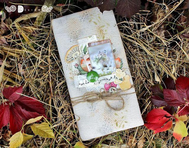 "Elena Martynova: Альбом ""В лесу"" для Fluffy Duffy"