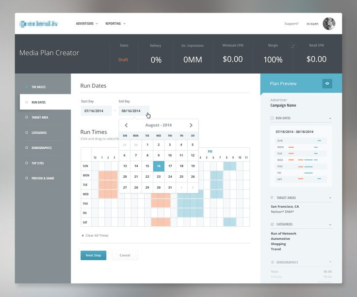 1177 best ui design images on pinterest interface design for What is a planner dashboard