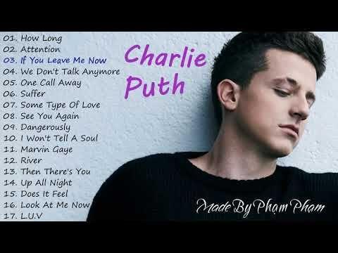 songs puth charlie tour album