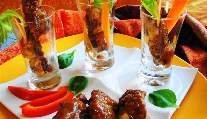 Surinaams eten – Party Saté Trafasie (amuse saté)