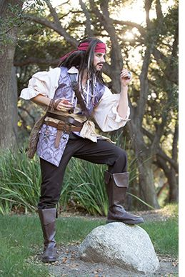 Jack Sparrow Party Character 2-Chicago Illinois