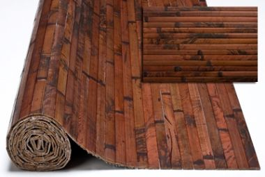 Bamboo panels, lend an exciting look to commercial, retail, and hospitality environments. It is a cost effective way to add nature and beauty to any decor. Bamboo paneling can be used to wrap around posts, to cover walls, ceilings, bars, kitchen island fronts, wainscoting, etc. In addition to being easy to install and cost effective, bamboo covering is flexible, making it the ideal wall covering material. It is also very hard and durable and can be used either indoors or outdoors.