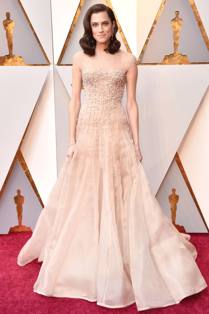 Allison William's Red Carpet Dress is a Grown Up Version of Her SAG's Dress | Check out how much Allison William's Oscars dress favors her gown fropm the SAG Awards.