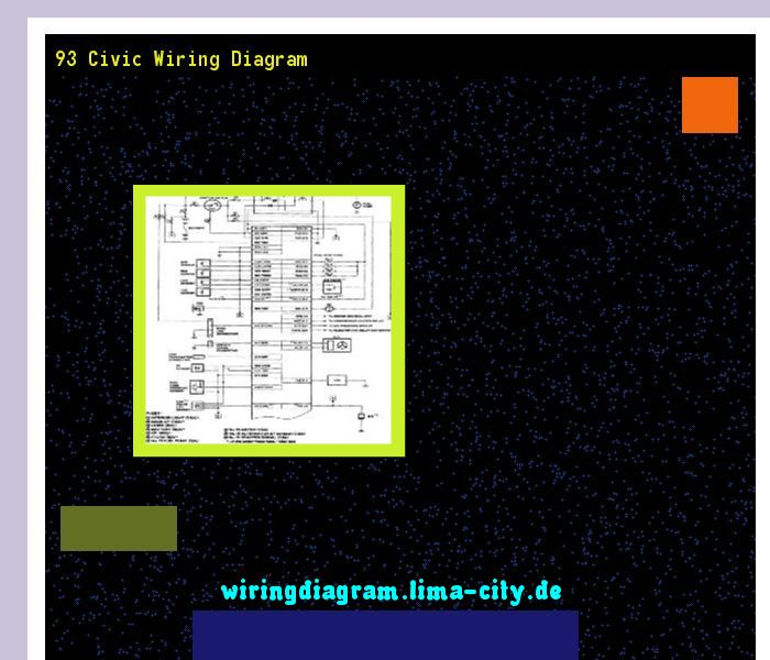93 Civic Wiring Diagram  Wiring Diagram 174857