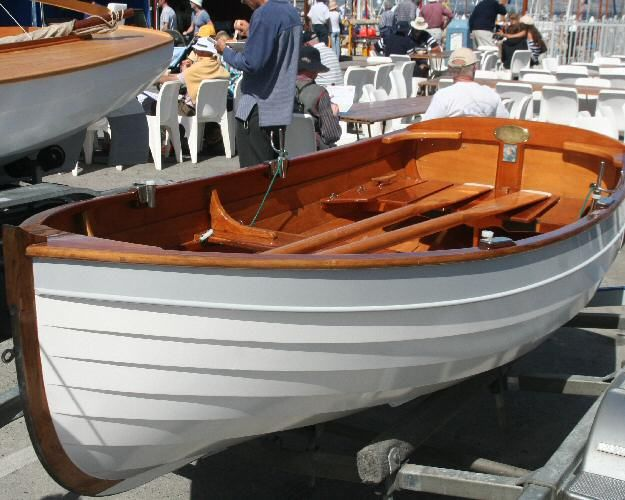 "Puffin by Iain Oughtred; 10' 2"" Clinker Dinghy. - Click Image to Close 