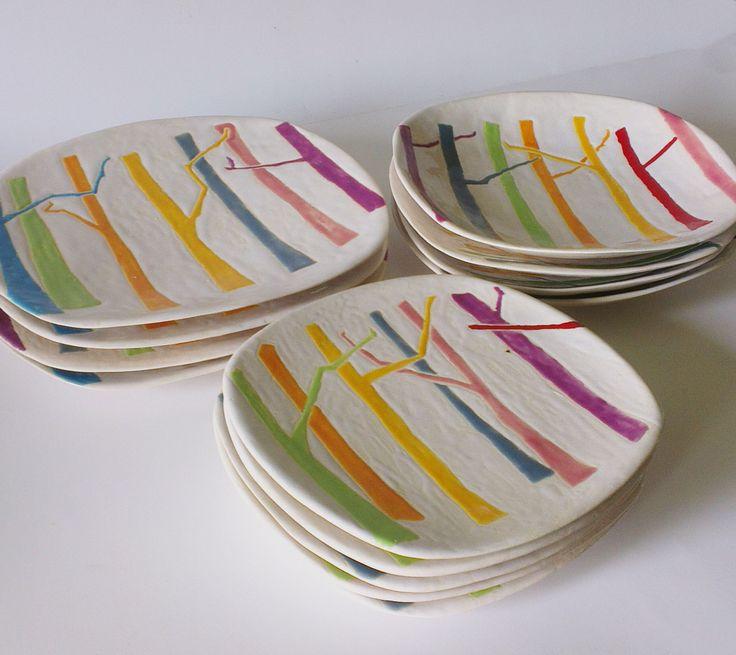 Piekarnia sztuki - Krystyna Nicz talerze, zastawa stołowa ceramika, dekoracja wnętrz, handmade ceramic