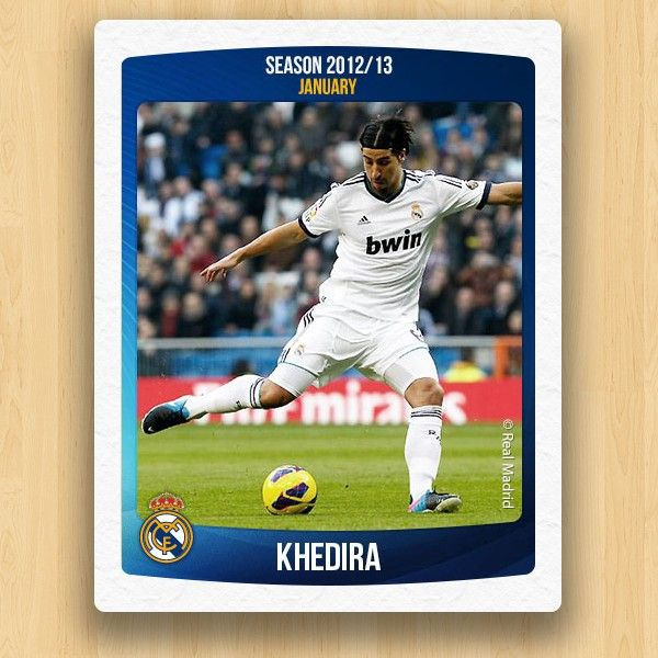 Real Madrid Collections - Khedira
