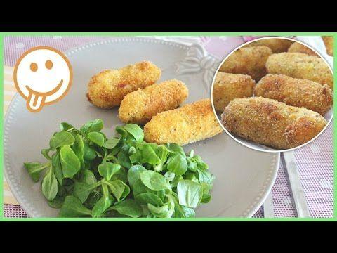 ▶ ♡ Croquettes Pommes de terre/Surimi - YouTube