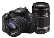 Canon EOS 700D w/18-55mm & 55-250mm IS STM Lenses Digital SLR Camera
