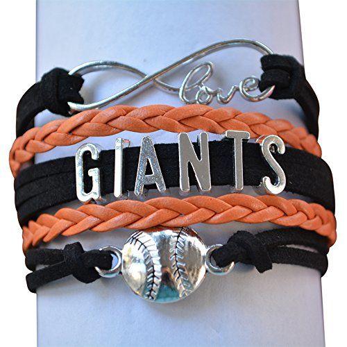 San Francisco Giants Jewelry, SF Giants Bracelet Makes Perfect Baseball Fan Gift Infinity Collection http://www.amazon.com/dp/B01CTBD3QA/ref=cm_sw_r_pi_dp_KlYdxb1Q7GH8Z