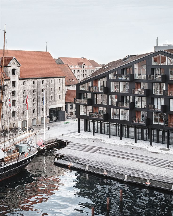 COBE copenhagen harbour housing designboom