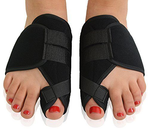 From 11.77 Dr. Frederick's Original Nighttime Bunion Splints - 2 Double-stitched Velcro Bunion Correctors - Bunion Relief For Bedtime - For Men & Women