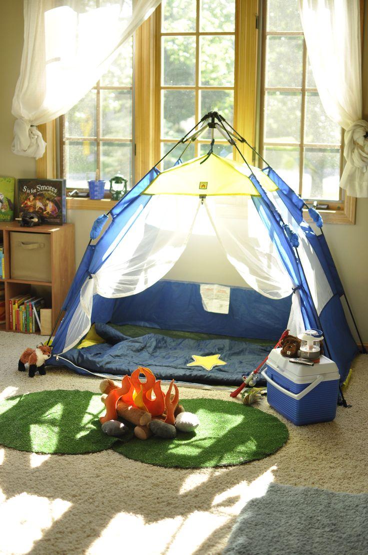 Voor wie indoorkamperen tot een hoger niveau wilt brengen ! #camping #glaming #rainydays #kids