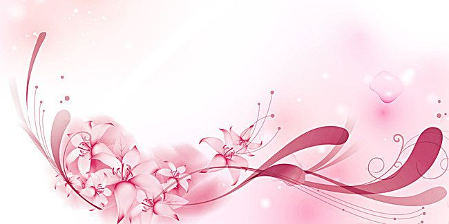 Pink Simple Wedding Romantic Background Panels Romantic