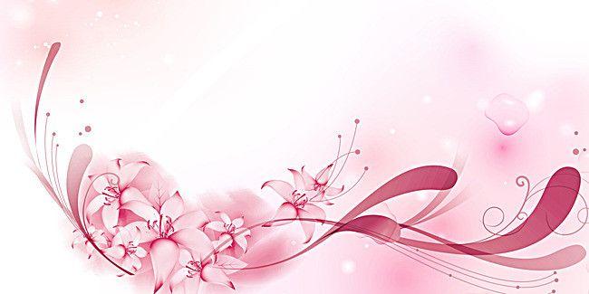 Pink Simple Wedding Romantic Background Panels Fundo Romantico
